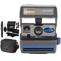 Impossible Polaroid 600 Talking Camera, Ritz Gear Deluxe Pre