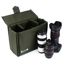 Beaspire Insert Dslr Inner Lens Bag Waterproof Shockproof Tr