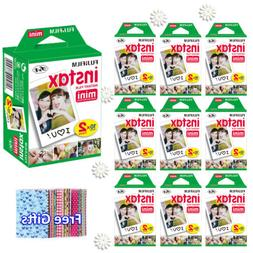 For Fujifilm Instax Mini 8 9 Camera Film Sheets Fuji Instant