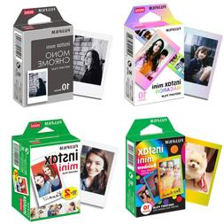 Fujifilm Instax Mini Film Fuji Instant 8 9 Papers Sheets For