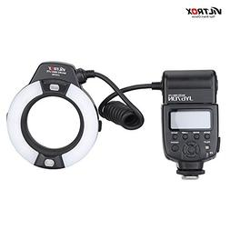 VILTROX JY-670N On-camera i-TTL Macro Close-up Fill-in LED R