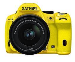 Pentax K-50 16MP Digital SLR Camera 3-Inch LCD with 18-55mm