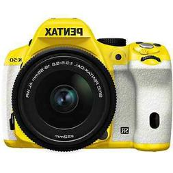 Pentax K-50 16MP Digital SLR Camera 3-Inch LCD with 18-55mm
