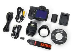 Pentax K-7 Weather Resistant 14.6MP Digital SLR Camera Bundl