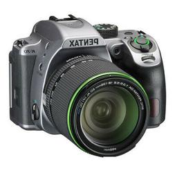Pentax K-70 Digital SLR Camera - Silver with 18-135mm Lens