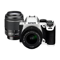 Pentax K-S2 DSLR Camera with Dual Lens Kit 18-50mm WR RE & 5