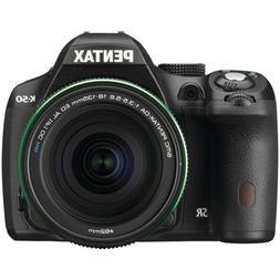 Pentax K-50 16MP Digital SLR Camera Kit with DA 18-135mm WR