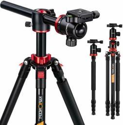 """K&F Concept 72"""" TM2534T Travel Camera Tripod Monopod Transve"""