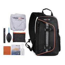 K&F CONCEPT DSLR Camera Backpack Shoulder Bag Waterproof Cov