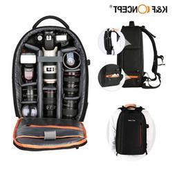 K&F Concept DSLR Camera Backpack Bag Case for Canon Nikon So