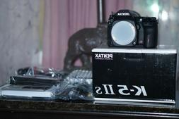 PENTAX Pentax K K-5 IIs 16.3MP Digital SLR Camera - Black