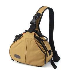 Caden K1 Waterproof Fashion Casual DSLR Camera Bag Case Mess