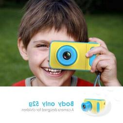 Kids Toy Digital Camera Mini SLR Sports Cartoon Game Photo C