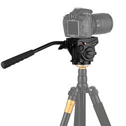 KINGJOY VT-3510 Video Camera Tripod Fluid Drag Heavy Duty He