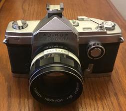 Konica Autorex P 35mm Camera, Full And Half Frame Feature, W