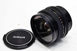 Konica Hexanon AR 40mm f/1.8 SLR Camera Lens