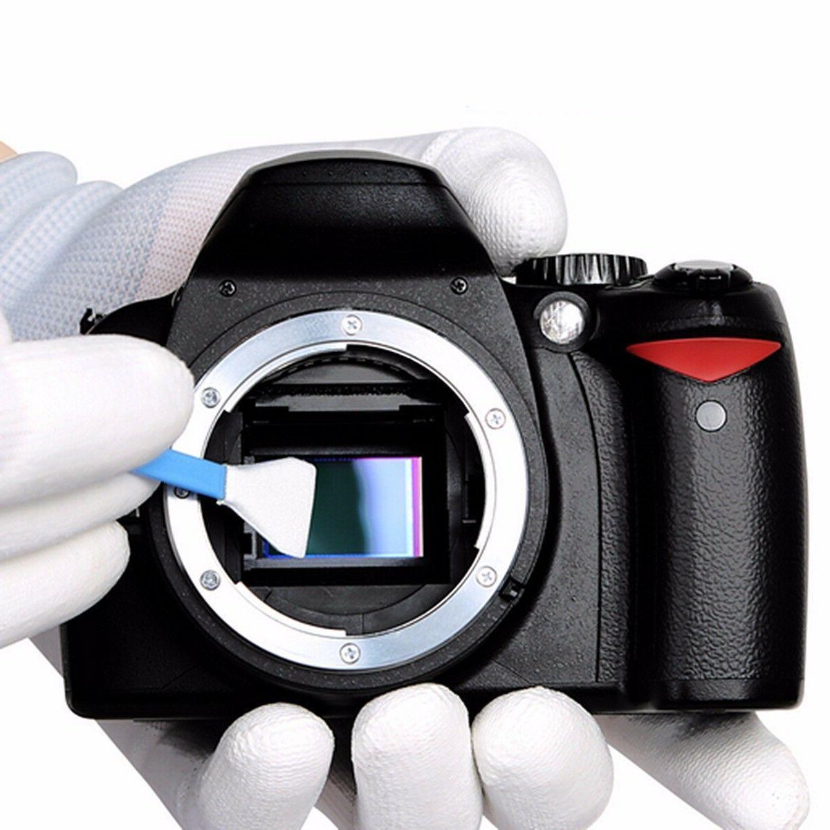 10PCS APS-C CCD/CMOS Cleaning Kit DSLR Camera