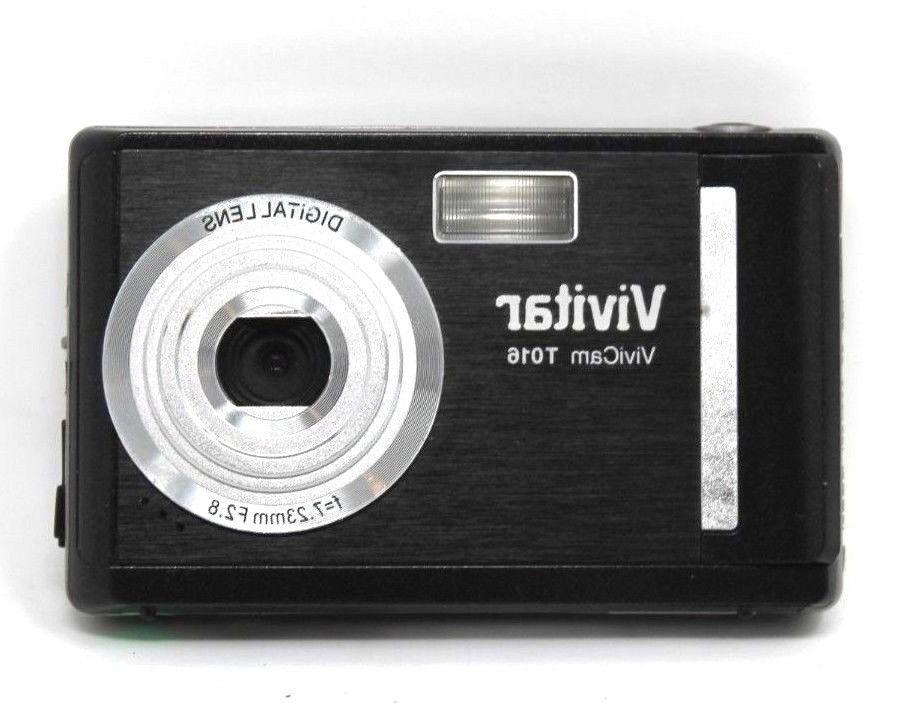 Vivitar 12.1MP Digital Camera HD ViviCam T016 | 4x Digital Z