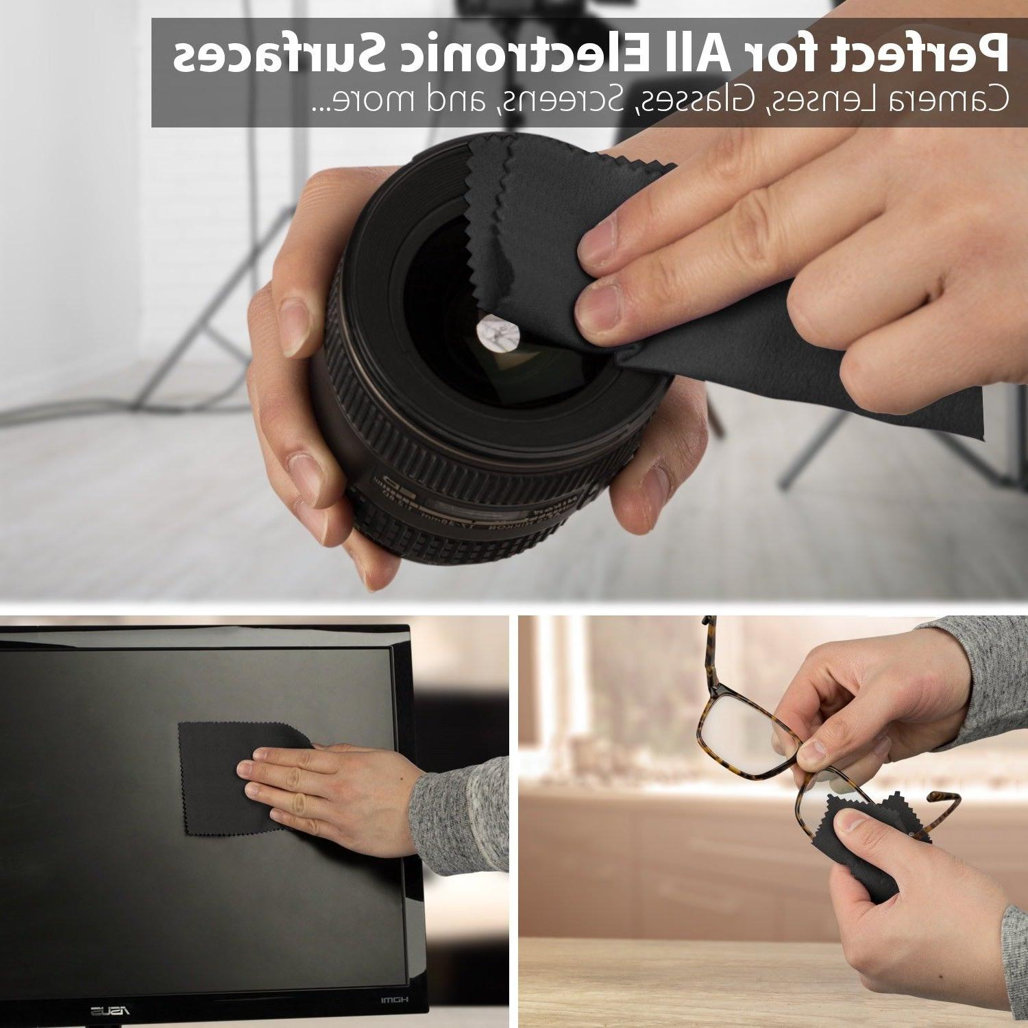 Camera Lens DSLR Cleaning 6x7in
