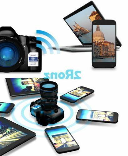 16/32GB/64GB TOSHIBA FlashAir Wireless SD Card 4K