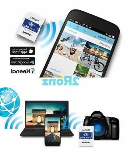 16/32GB/64GB W-04 Wireless SD Flash Card WiFi