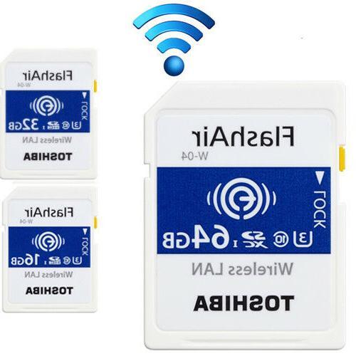 16 32gb 64gb flashair w 04 wireless