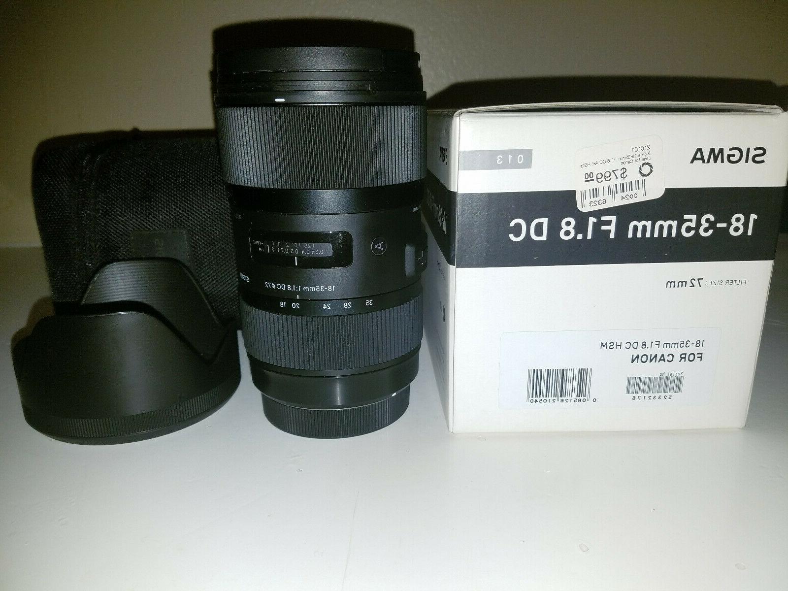18 35mm f 1 8 dc hsm