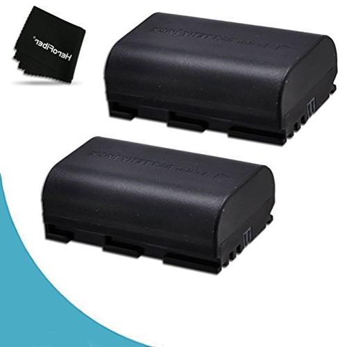 2 canon lp e6 batteries