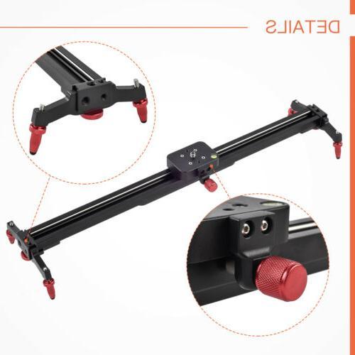 24''/32''/40''/48''DSLR Camera Slider Video Track
