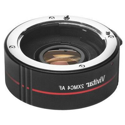 Vivitar 2x 4 Elements Teleconverter for Nikon DSLR Digital Camera