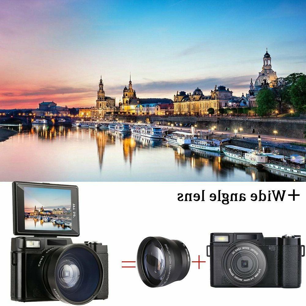 3.0Inch Full HD 1080P Video Screen Vlogging