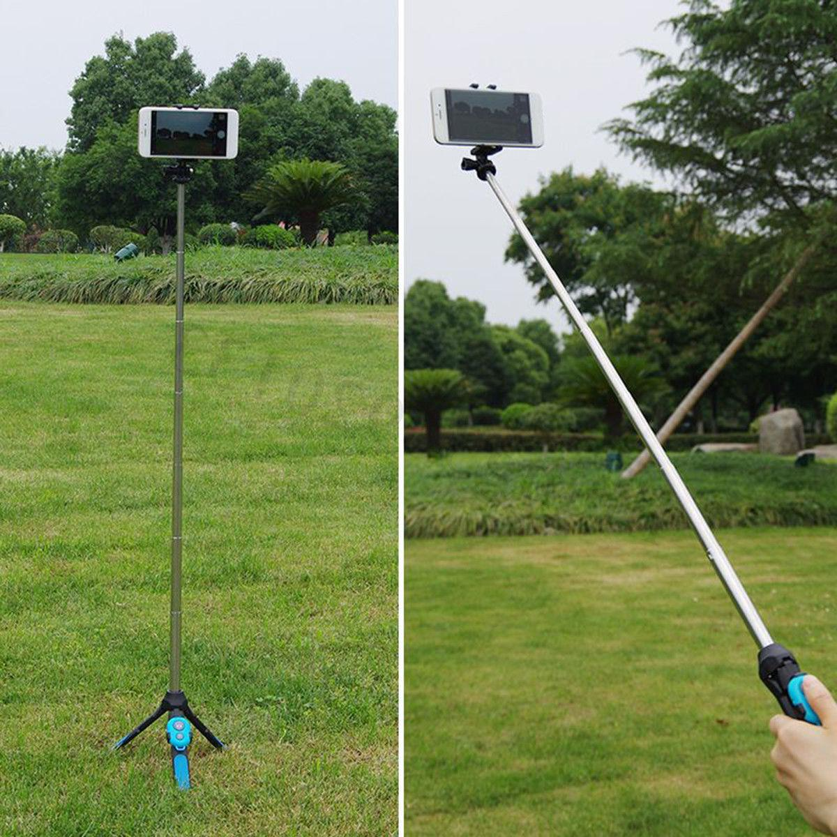 3-In1 Telescopic Selfie Stick For