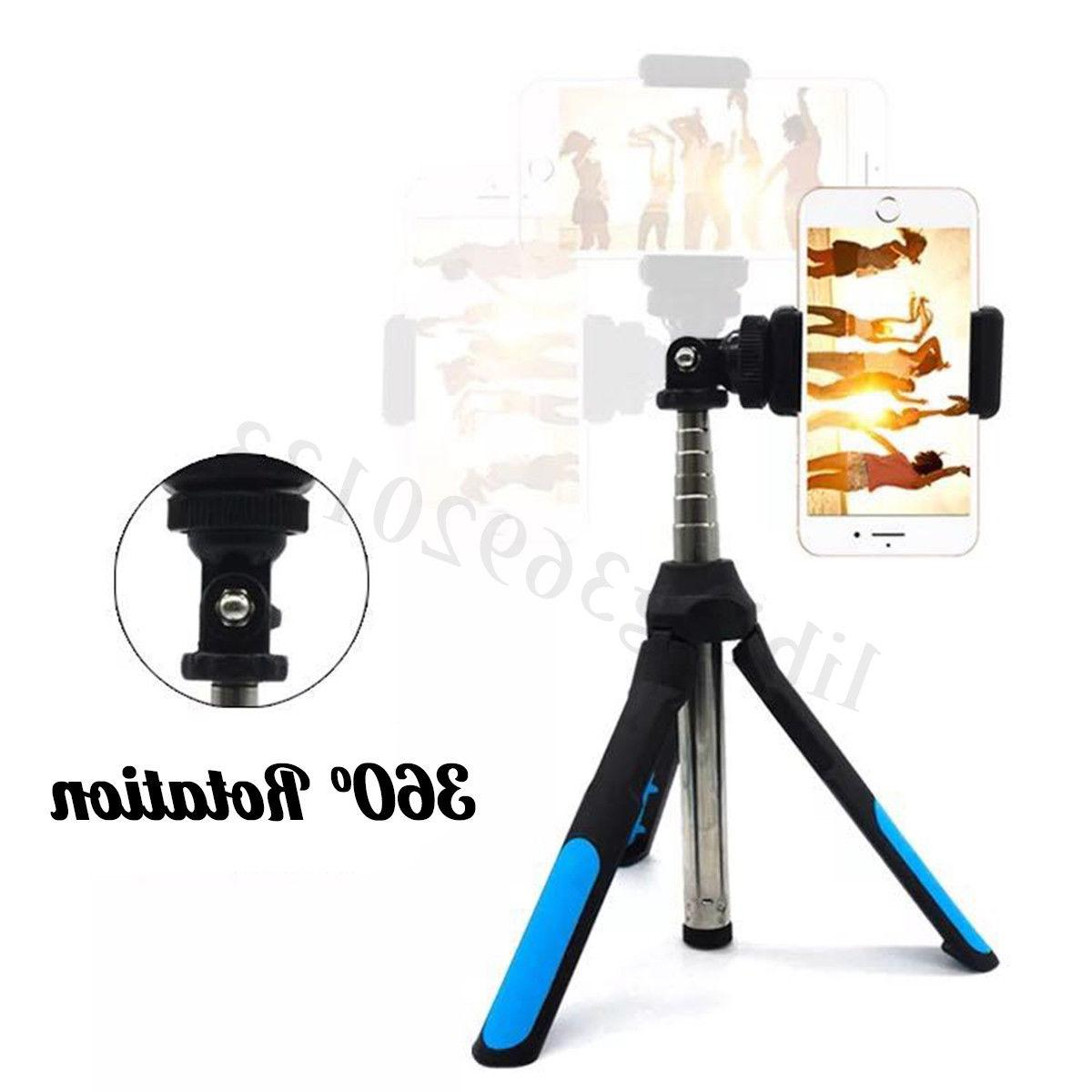 3-In1 Telescopic Arm Stick Tripod bluetooth For Phone Camera