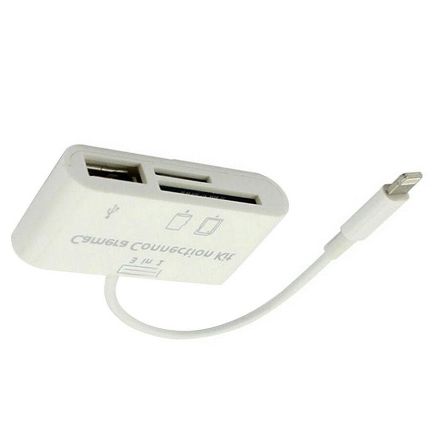 3 in1 Card Reader for iphone