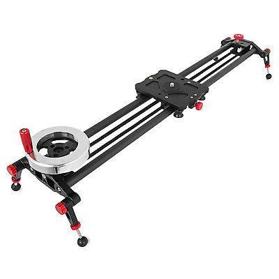 Rail Slider Video Stabilizer Flywheel 80cm Stabilization