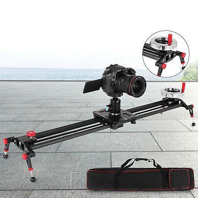 """31.5"""" DSLR Rail Slider Video Flywheel 80cm"""