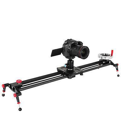 "31.5"" DSLR Track Rail Video Stabilizer Flywheel Stabilization"