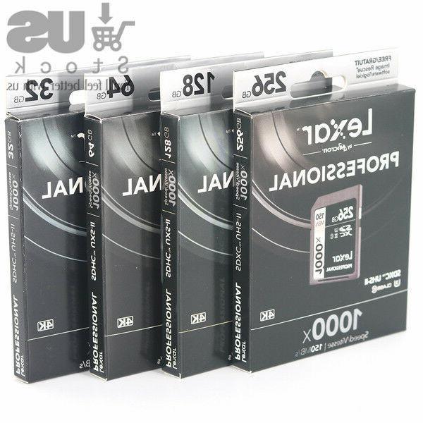UHS-II Memory Card 3D 150MB/s