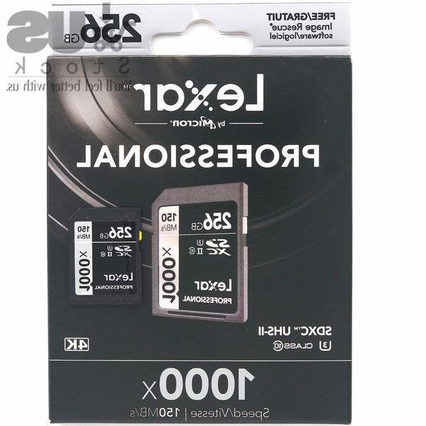 Lexar 32/64/128/256GB SD 3D Camera 150MB/s