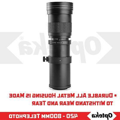 Opteka Lens D5500 D5300