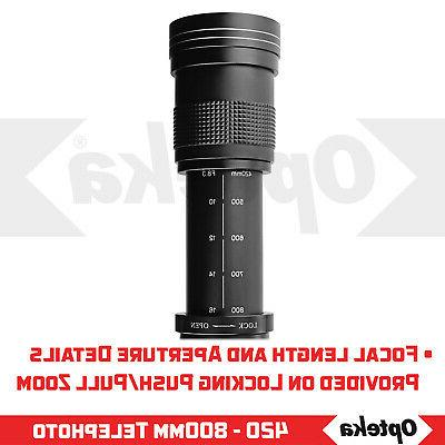 Opteka Telephoto Zoom D5500 D5300 D3500
