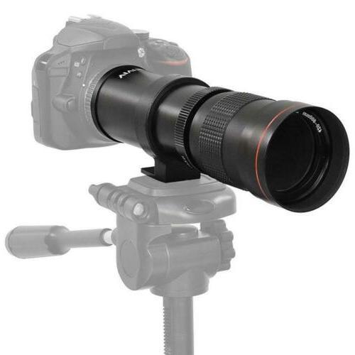 Vivitar 420-800mm Telephoto Zoom Lens for All