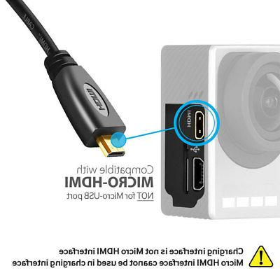6ft A/V HDTV Cable Cord Coolpix Camera