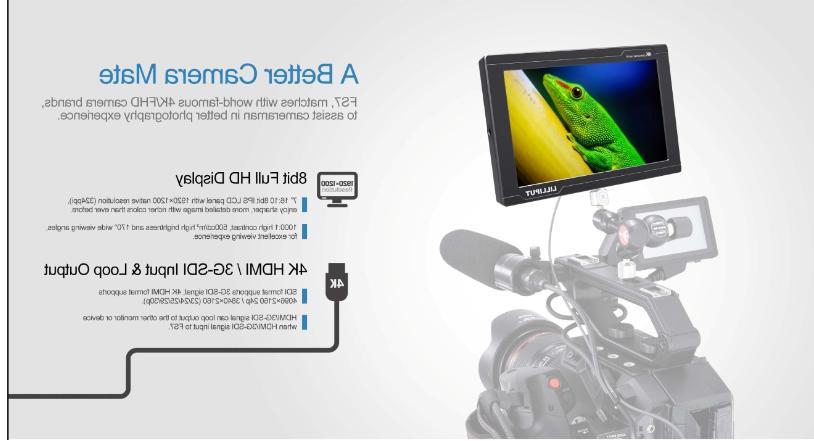 "Lilliput 7"" Broadcast HDMI Camcorder"