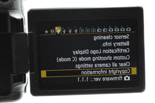 Canon 70D Digital 20.2MP Body #660