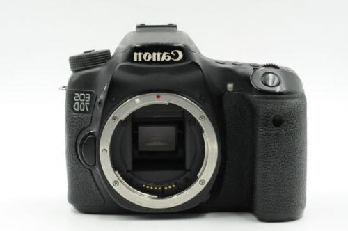 Canon 70D 20.2MP Camera Body #660