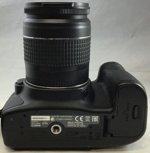 Canon 70D EOS Digital w/ Zoom Lens 28-80mm