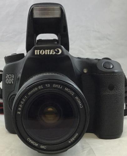Canon EOS DSLR Digital Zoom EF 28-80mm