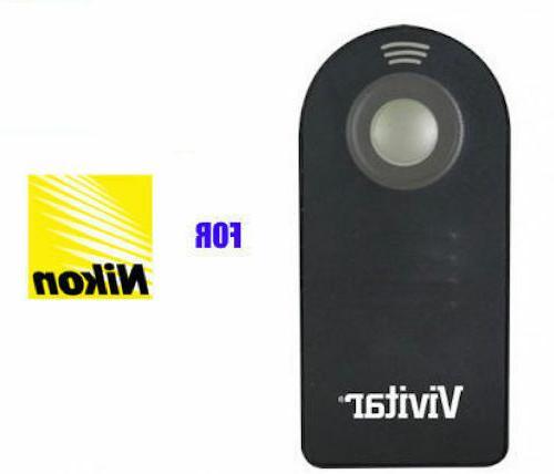 "72"" Camera IR Remote Control for NIKON DSLR D3300 D5000"