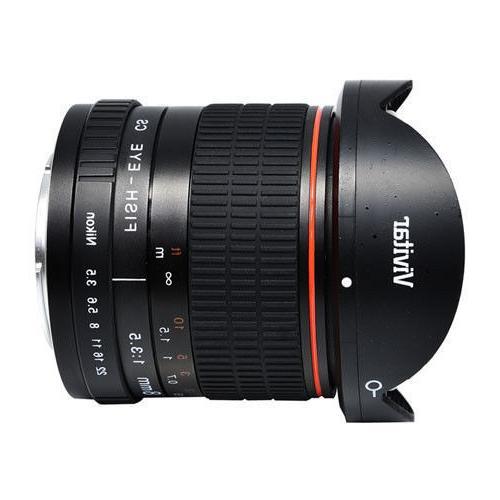 Vivitar 8mm f/3.5 Fisheye Lens Digital Fish-Eye New!